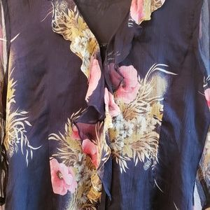 Missoni Tops - Silk n Sexy Floral Blouse